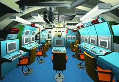 Центральный пост проекта 677. Изображение с сайта worldnavy.info