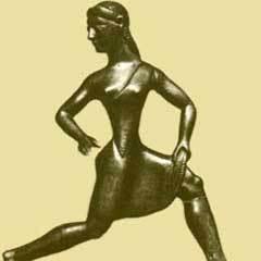 Статуэтка спартанской девушки. Фото с сайта sikyon.com