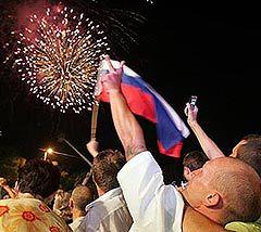 Избрание Сочи столицей Олимпиады. Фото AFP