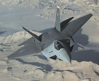 F-22A. Фото c сайта fas.org