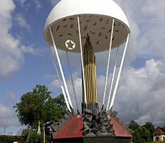 Памятник погибшим бойцам 6-ой десантной роты 104-го полка Псковской дивизии ВДВ в Пскове. Фото с сайта desant.com.ua