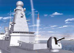 Фрегат с ЗРК Aster. Фото c сайта naval-technology.com