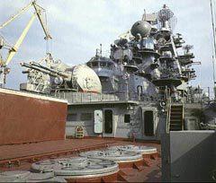 "УВП ЗРК ""Кинжал"" на переднем плане. Фото ВМФ России"