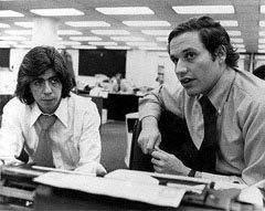 Карл Бернштейн и Боб Вудворд. Фото с сайта Brandeis University