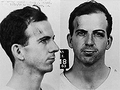 Ли Харви Освальд. Фото из архивов далласской полиции