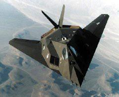 F-117A. Фото с сайта Fas.org