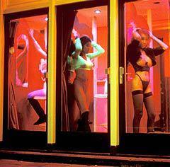 """Амстердамские """"окна"""". Фото AFP"""