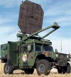 Опытный образец микроволновой пушки. Фото с сайта DefenseTech.org