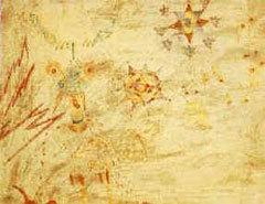 "Рисунок Джулиана Леннона, вдохновивший его отца, Джона Леннона, на написание песни ""Lucy in the sky with diamonds"""