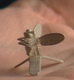 Micromechanical Flying Insect. Фото с сайта www.static.howstuffworks.com