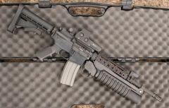 Штурмовая винтовка Bushmaster XM15E2S M4A3. Фото с сайта www.altair.com.pl