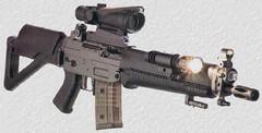 Автомат SIG SG 551. Фото с сайта www.civiliangunner.com