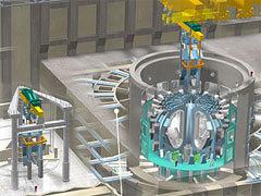 Реконструкция помещения реактора. Изображение с сайта iter.org