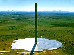 """Солнечная башня"" в Австралии. Фото с сайта enviromission.com"