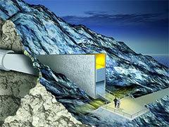 """Реконструкция входа в хранилище """"Судного дня"""". Изображение с сайта croptrust.org"""