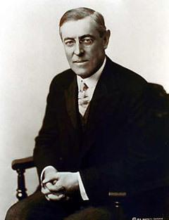 Вудро Вильсон. Фото с сайта woodrawwilson.org