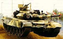 ОБТ Т-90. Фото с сайта www.army.lv