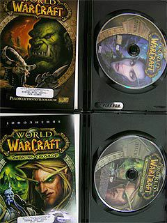 World of Warcraft и Burning Crusade в открытом виде