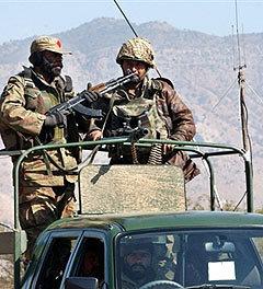 Пакистанские военные. Фото AFP