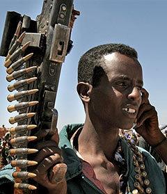 Сомалийский боевик. Фото AFP