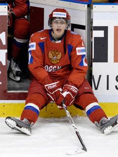 Алексей Черепанов в форме молодежной сборной России. Фото (c)AFP