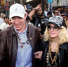 Мадонна и Гай Ричи. Фото (c)AFP