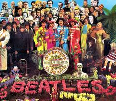 "Обложка альбома ""Sgt. Pepper's Lonely Hearts Club Band"""