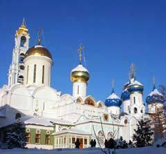 Троицкий собор Троице-Сергиевой лавры. Фото с сайта stsl.ru