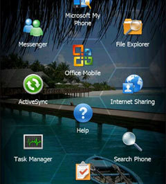 Скриншот Windows Mobile 6.5