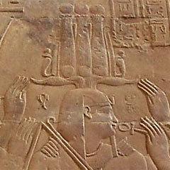Рельеф с изображением Птолемея XIII. Фото пользователя Crucifixion для wikipedia.org
