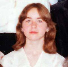 Элизабет Фритцль в юности. Фото, переданное (c)AFP