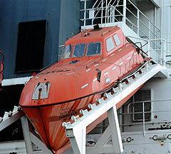 Лодка, на которой пираты держали Филлипса. Фото AFP