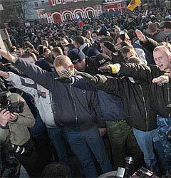 """""""Правый марш"""" в Москве. Фото """"Ленты.Ру"""""""