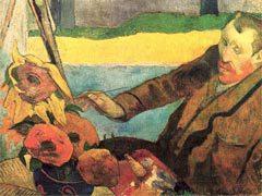 """Поль Гоген """"Ван Гог за работой"""". Репродукция с сайта wikipedia.org"""