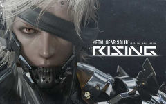 Арт к игре Metal Gear Solid Rising