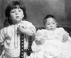 Меллвина Дин с братом после катастрофы. Фото с сайта pagesperso-orange.fr