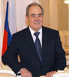 Минтимер Шаймиев. Фото с сайта president.tatar.ru