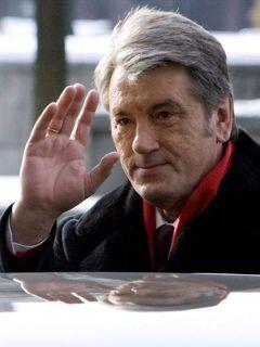 Виктор Ющенко прощается с президентством. Фото AFP