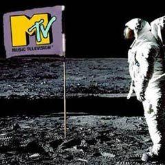 Одна из первых заставок MTV