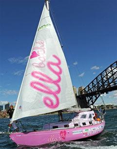 Яхта Джессики Уотсон. Фото (c)AFP