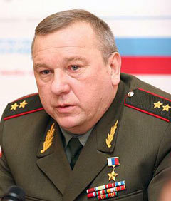 Владимир Шаманов. Фото пресс-службы Минобороны РФ