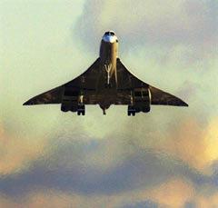 """Взлетающий """"Конкорд"""". Фото (c)AFP"""