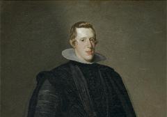 Фрагмент портрета короля Испании Филиппа IV работы Диего Веласкеса из музея Прадо в Мадриде