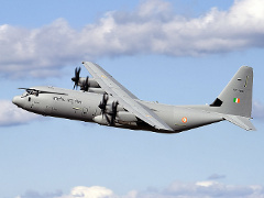 C-130J-30 для ВВС Индии. Фото с сайта defenseindustrydaily.com