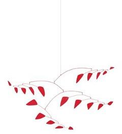 """Александр Колдер, """"Бурж (макет)"""" (1968), листовое железо, проволока, краска. Цена: 2,546 миллиона долларов. (В высоком разрешении)"""
