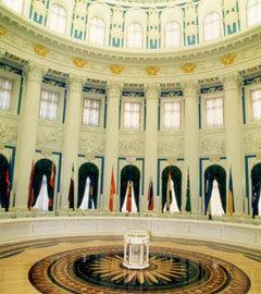 Отреставрированный Mabetex зал в Кремле. Фото с сайта компании
