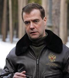 Дмитрий Медведев в Горках 21 марта. Фото (c)AFP
