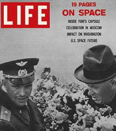 """Обложка """"Life"""" от 21 апреля 1961 года"""