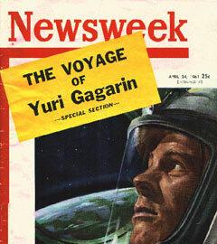 """Обложка """"Newsweek"""" от 24 апреля 1961 года"""