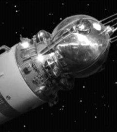 """Космический корабль """"Восток-1"""". Кадр видеозаписи с сайта NASA"""